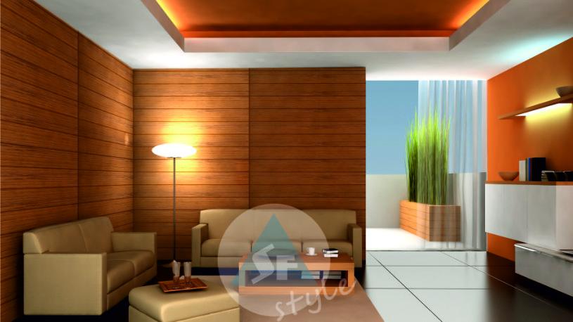 Проект гостинной комнаты (2)